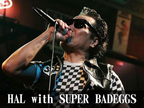 HAL with SUPER BADEGGS